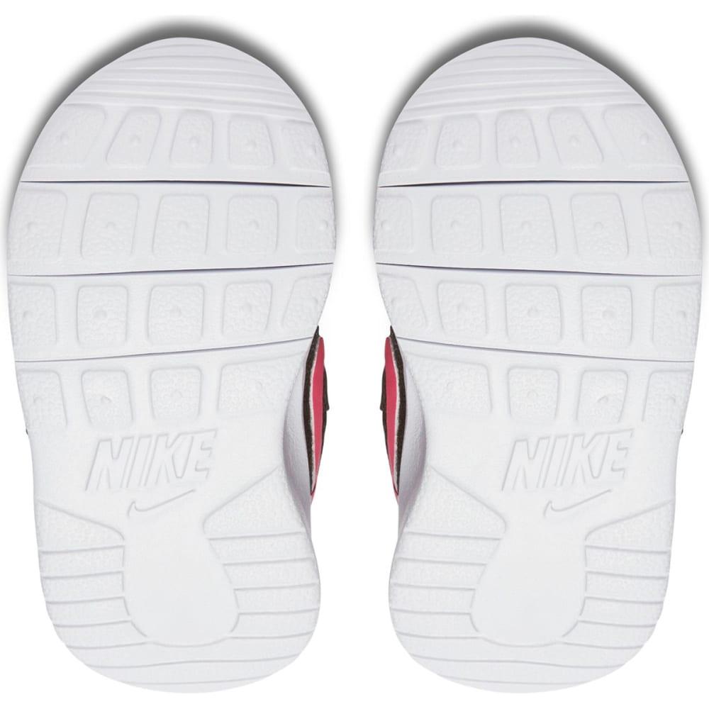 NIKE Toddler Girls' Tanjun Sneakers - 061 BLACK WHITE PINK