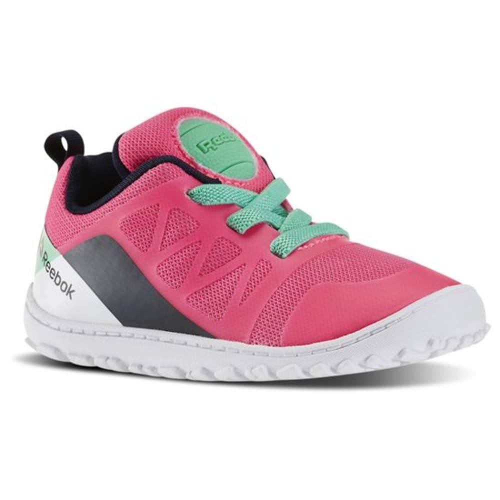 REEBOK Girls' ZPump Fusion 2.0 Running Shoes - SUN GLOW