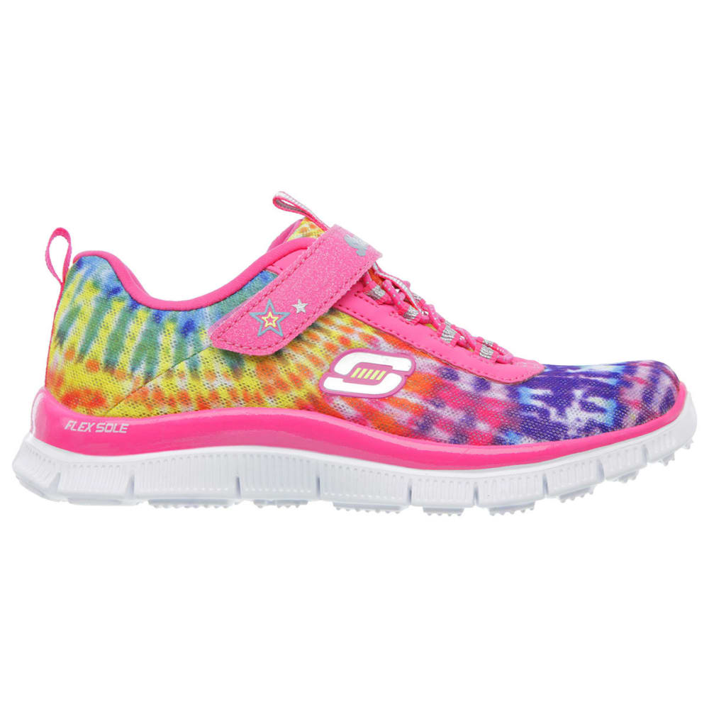 SKECHERS Girls' Skech Appeal Training Sneakers—Groove N' Glide - TYE DYE