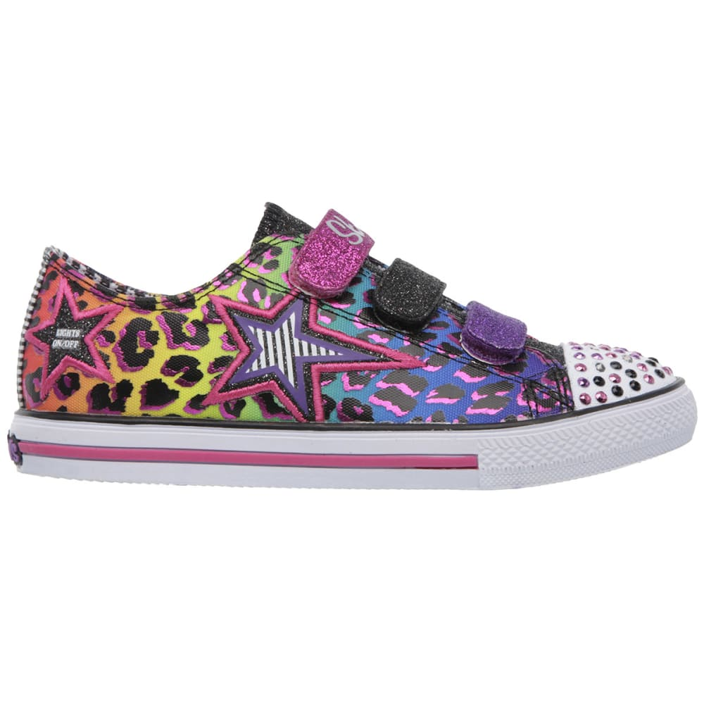 SKECHERS Girl's Twinkle Toes: Chit Chat-Prolifics - MULTI