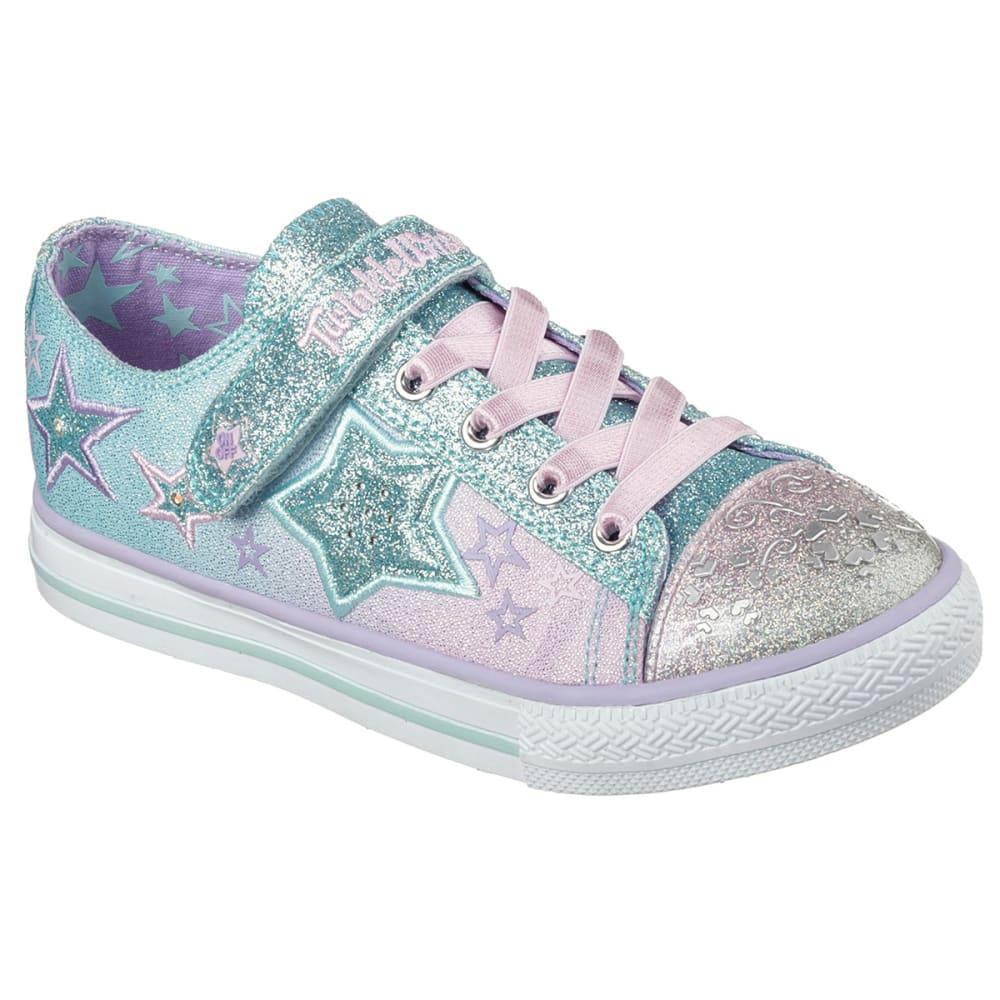 SKECHERS Girls' Twinkle Toes: Enchanter Sneakers - LIGHT BLUE