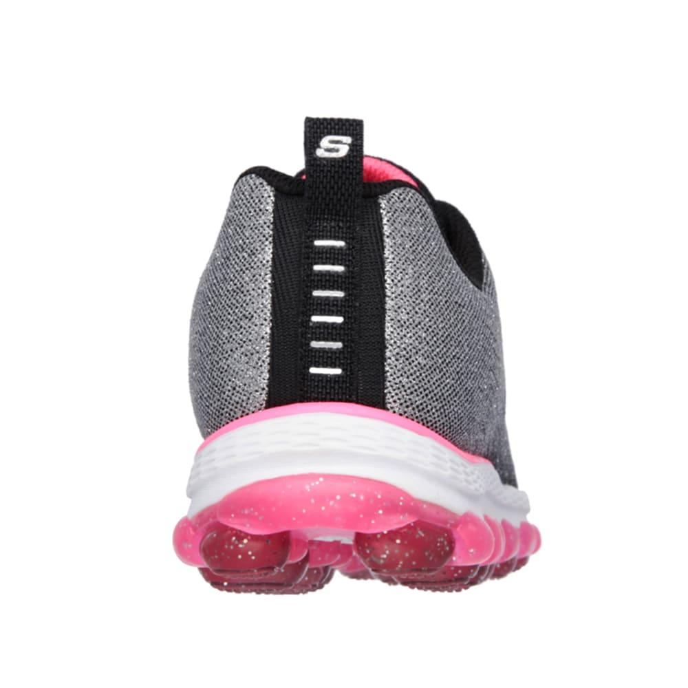 SKECHERS Girls' Skech-Air Ultra Sneakers (10.5-3) - BLACK