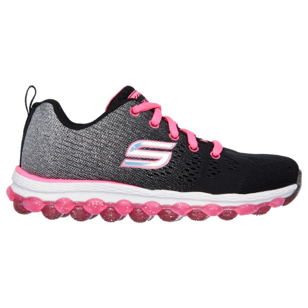 SKECHERS Girls' Skech-Air Ultra Sneakers (10.5-3) - BLACK