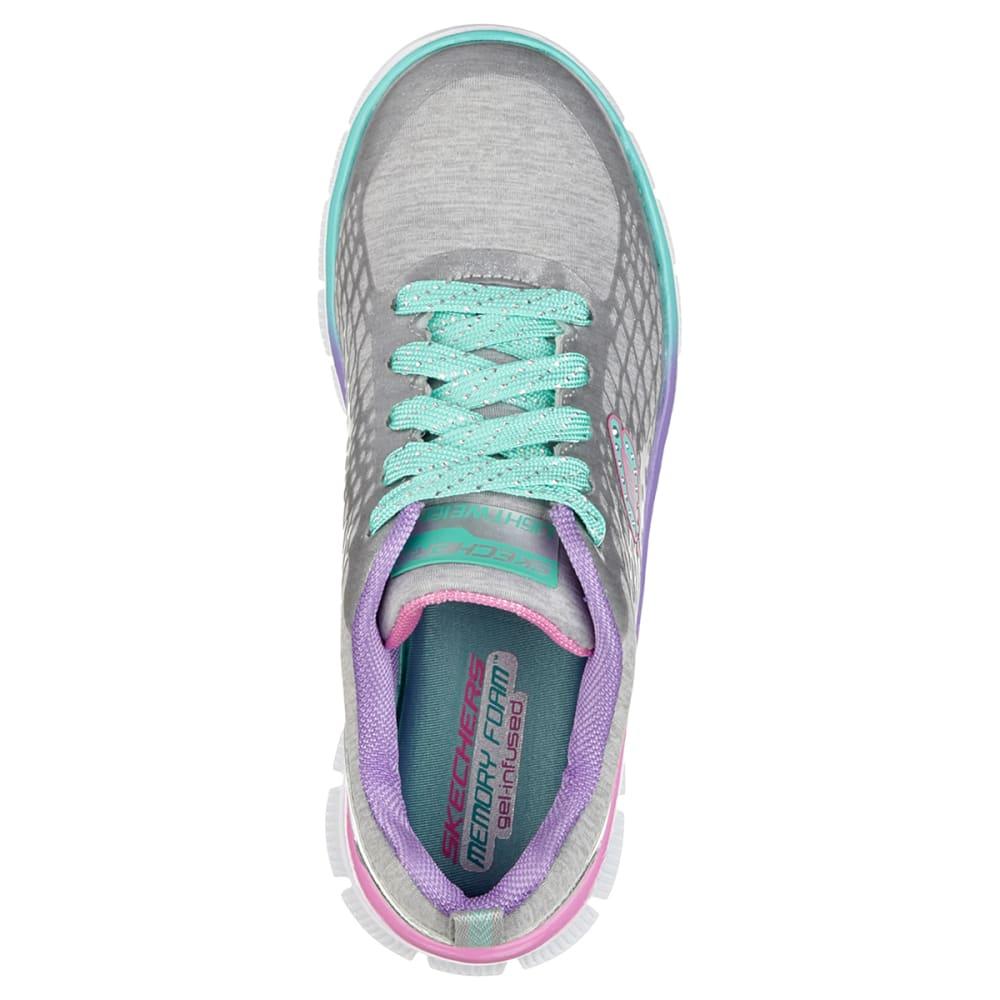 SKECHERS Girls' Skech Appeal Surprise n Shine Shoes - SILVER 11-3