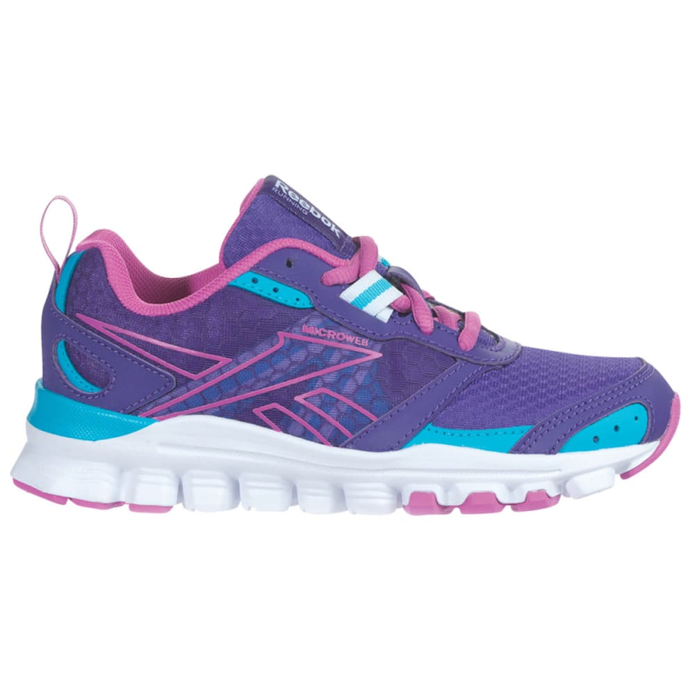 REEBOK Girls' Hexaffect Run Sneakers - VIOLET