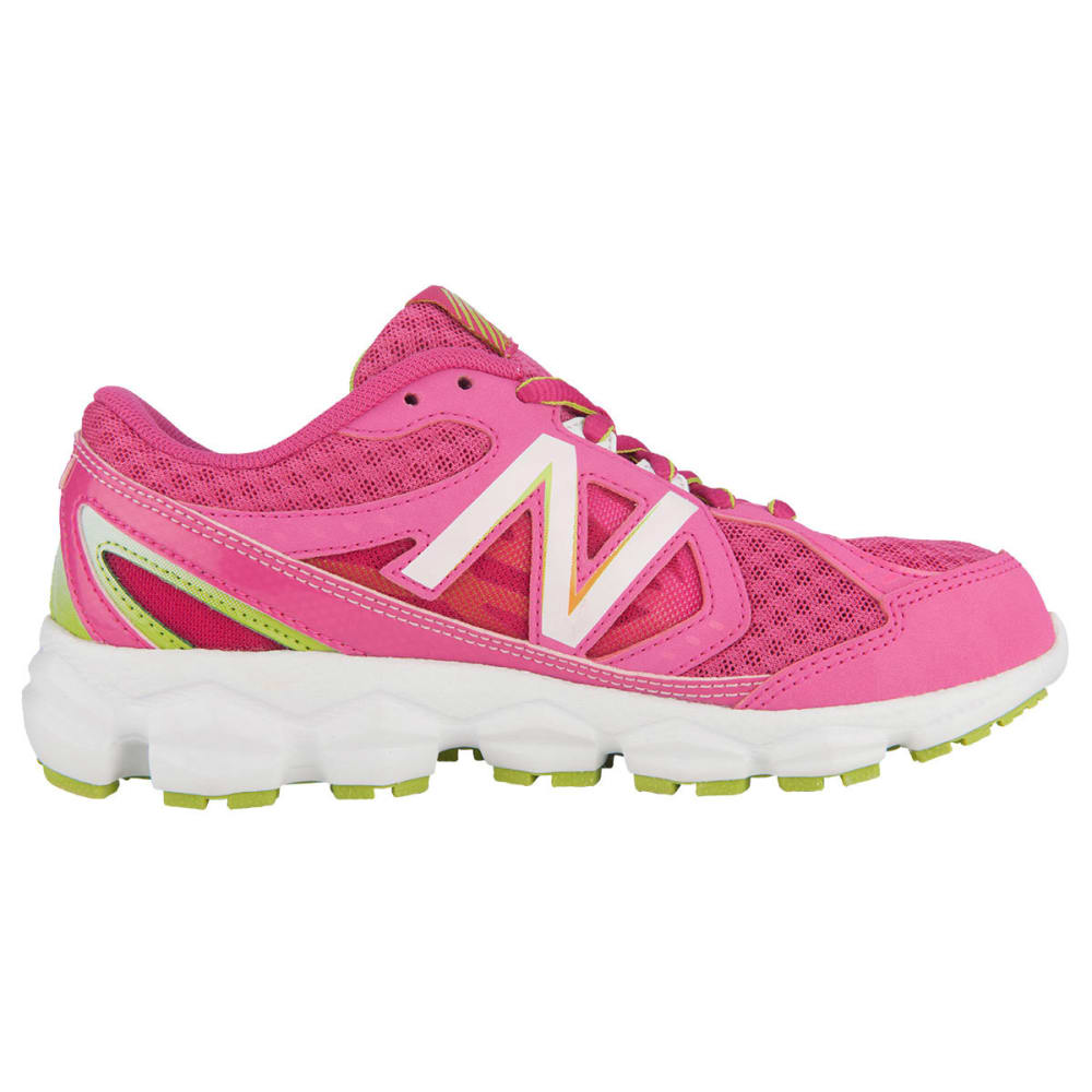 NEW BALANCE Girls' KJ750v3 Running Shoes - FRESH SALMON