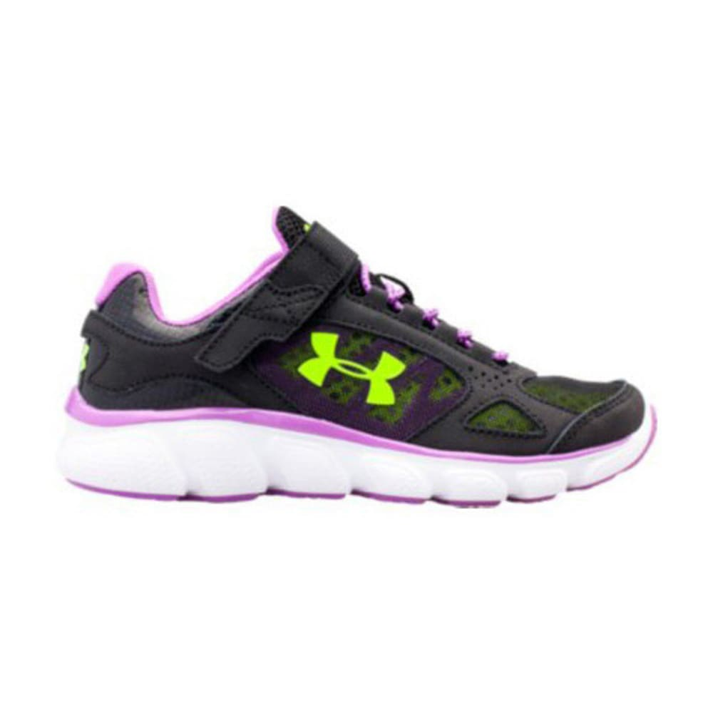UNDER ARMOUR Girls' UA Assert V AC (11-3) - BLACK