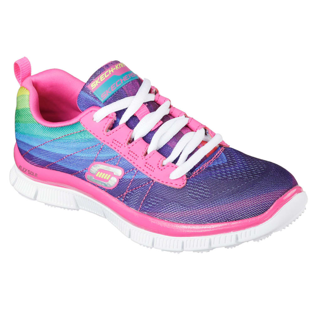SKECHERS Girls' Sketch Appeal Pretty Please Sneakers - FRESH SALMON