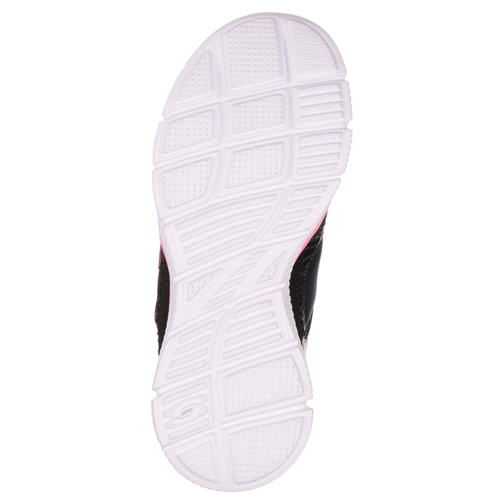 SKECHERS Girls' Equalizer-Dreamin' Diva Shoes - BLACK/PINK