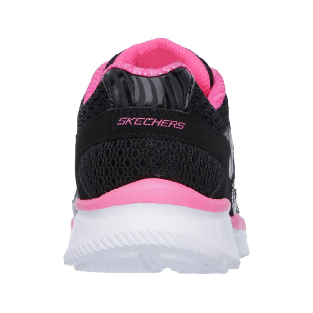 SKECHERS Girls' Equalizer-Dreamin' Diva Shoes - BLACK/PINK