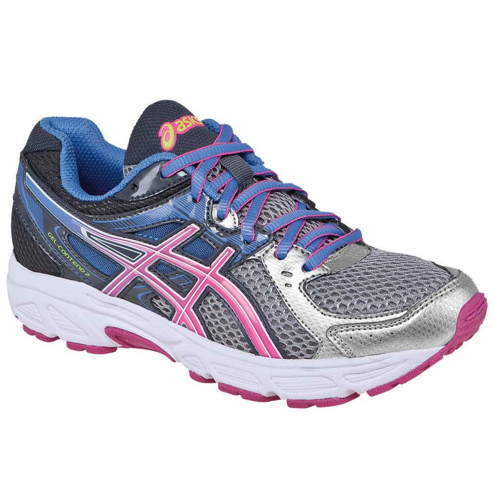 ASICS Girls' GEL-Contend 2 Running Shoes - GRAY