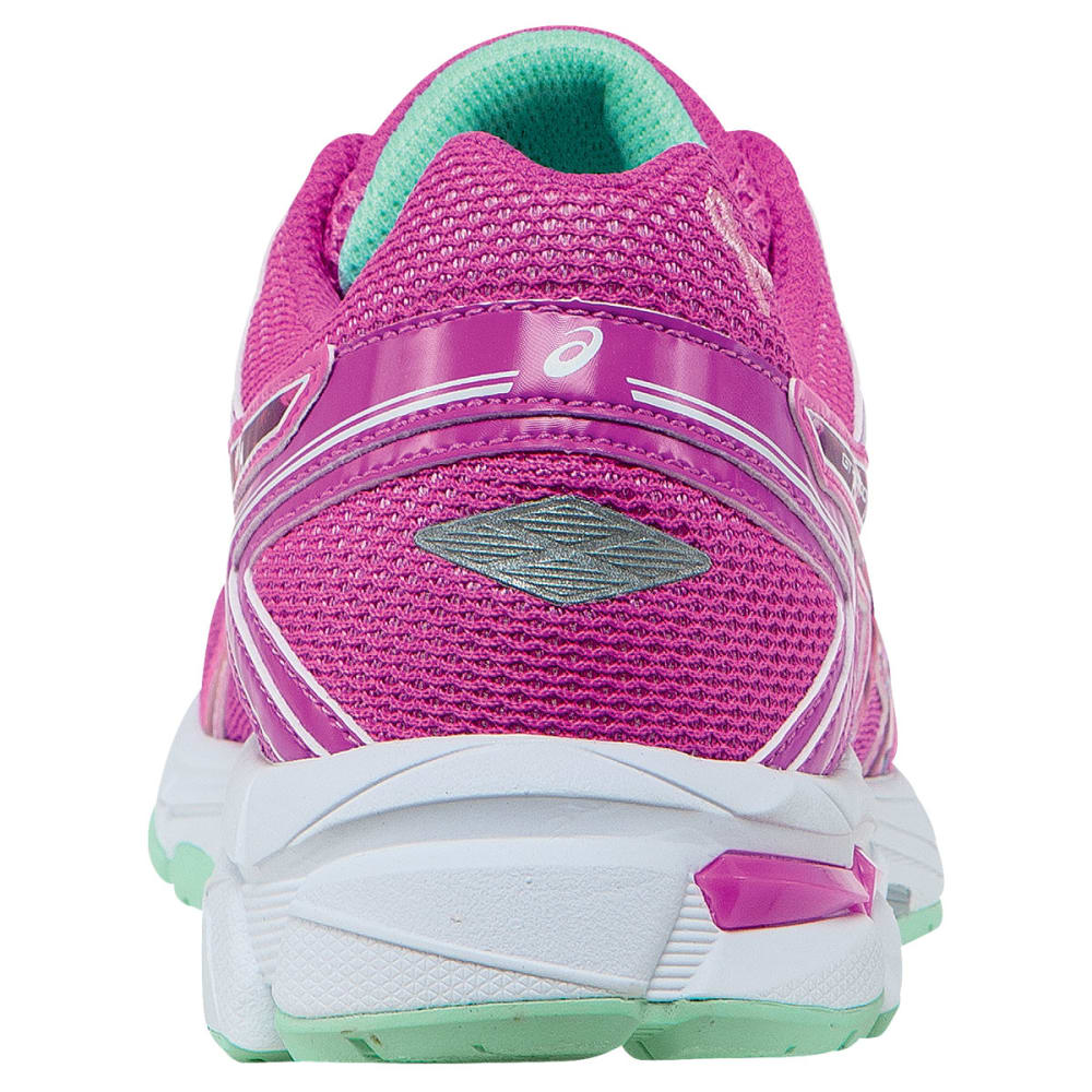 ASICS Girl's GT 1000 4 Running Shoes - GLOW/PINK RIBBON