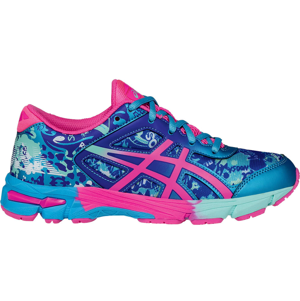 ASICS Girls' GEL-Noosa Tri 11 Running Shoes - NAVY/CORAL