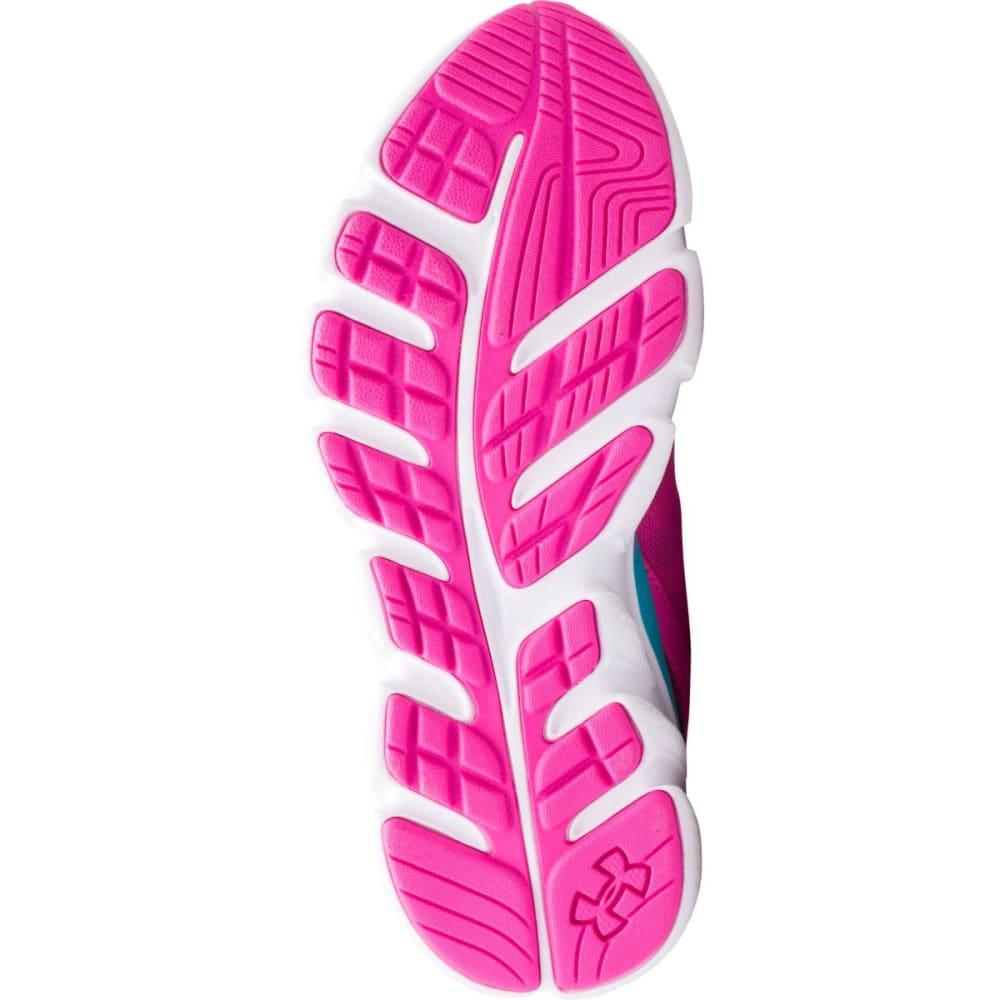 UNDER ARMOUR Girls' Grade School Assert V Sneakers - PINK/BLUE