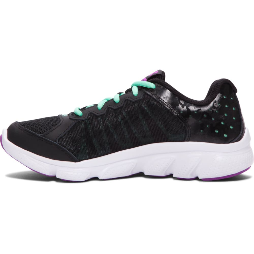 UNDER ARMOUR Big Girls' Micro G Assert 6 - BLACK/MINT
