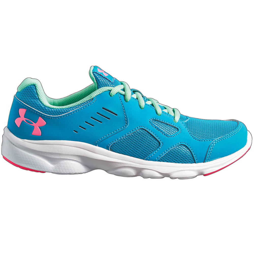 UNDER ARMOUR Girls' Pace RN Running Shoes - AQUA