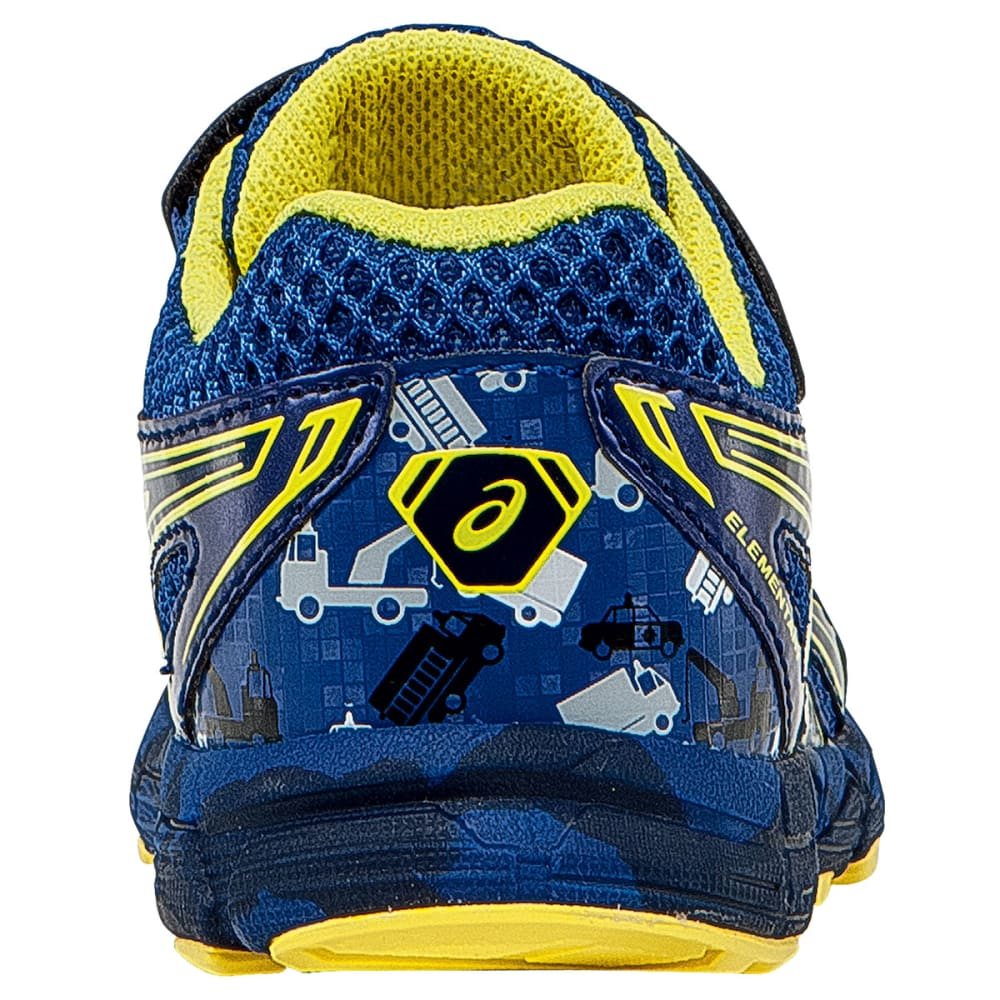ASCIS Boys' Turbo TS Running Shoes - BLUE/FLASH YELLOW