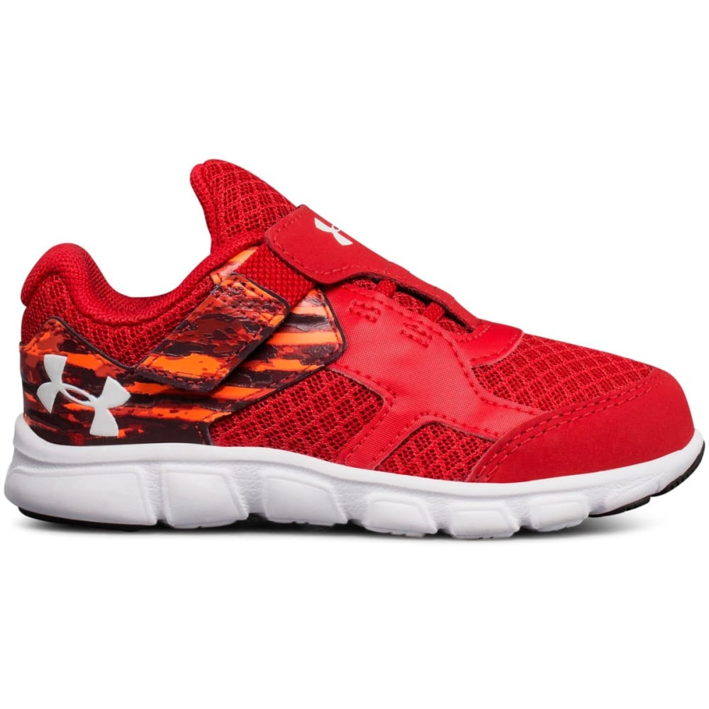 UNDER ARMOUR Toddler Boys' UA Thrill Alternate Closure Sneakers - RED