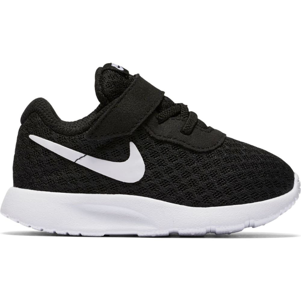 NIKE Infant Tanjun Shoes - 011 -BLACK WHITE