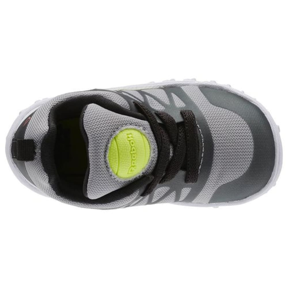 REEBOK Boys' ZPump Fusion 2.0 Shoes - WHITE/STEEL PRINT