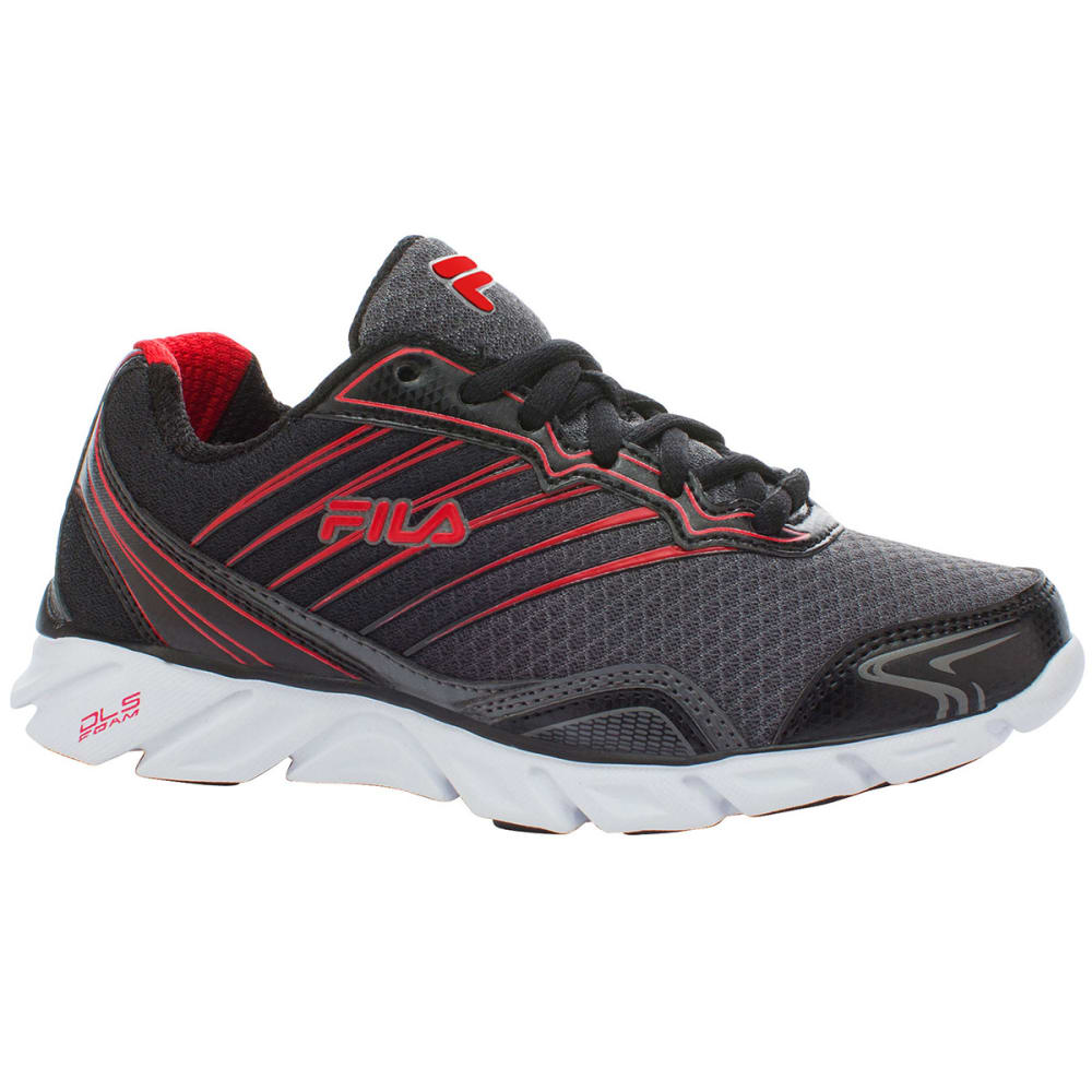 FILA Boys' T-Minus Athletic Shoes - CHARCOAL