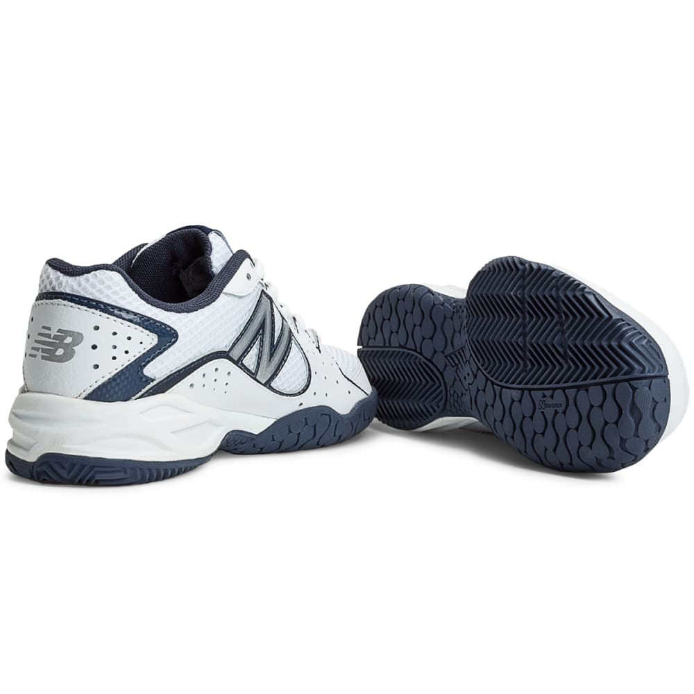 NEW BALANCE Boys' 786 Tennis Shoes - WHITE/NAVY