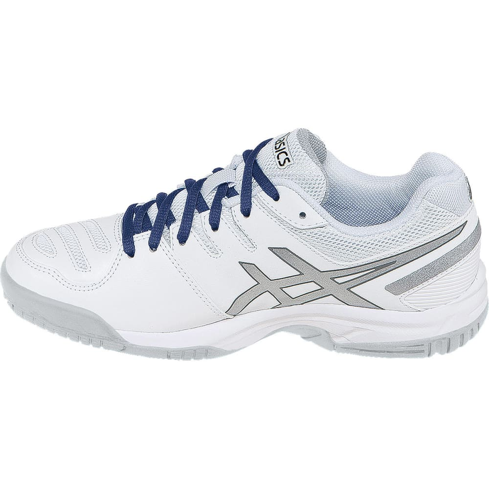 ASICS Boys' Gel-Game® 5 GS Tennis Sneakers - WHITE/SILVER