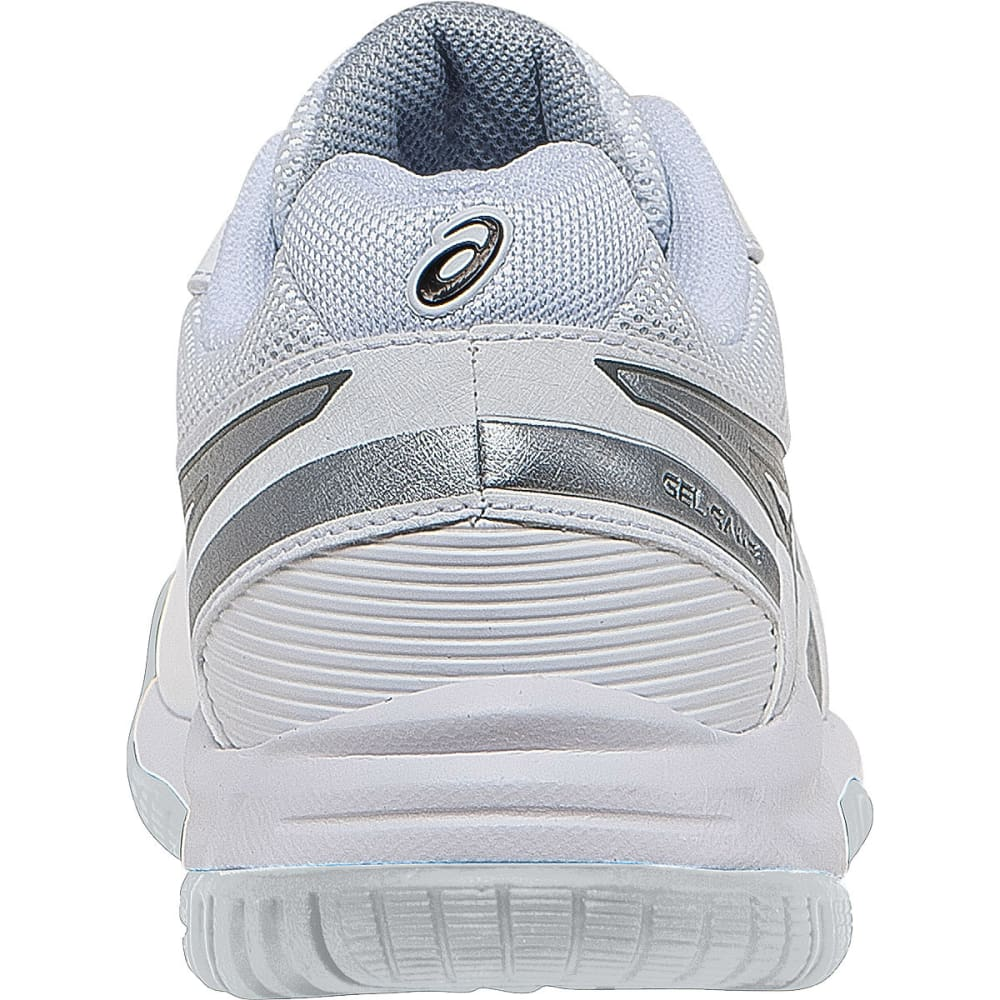 ASICS Boys' Gel-Game 5 GS Tennis Sneakers - WHITE/SILVER