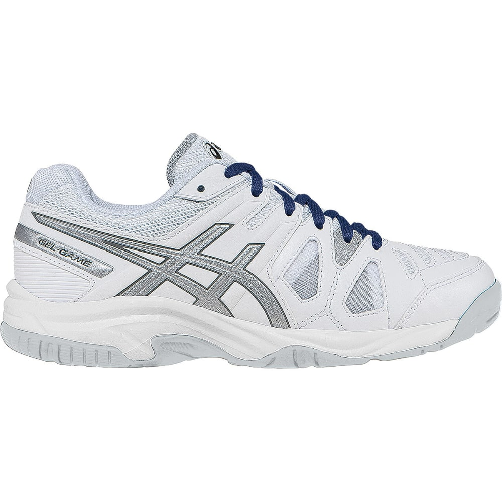 ASICS Boys' Gel-Game® 5 GS Tennis Sneakers - WHITE/SILVER