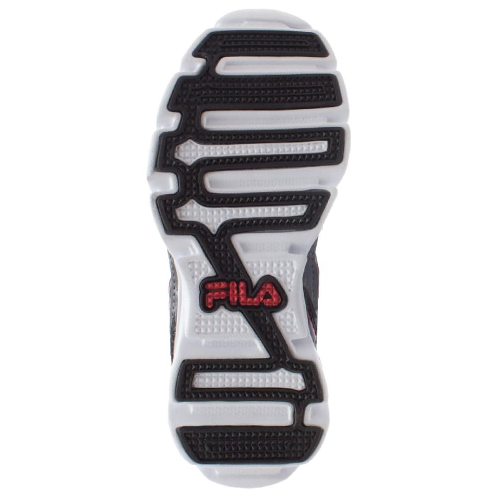 FILA Boys' T Minus Athletic Shoes - BLACK/NEON CHERRY