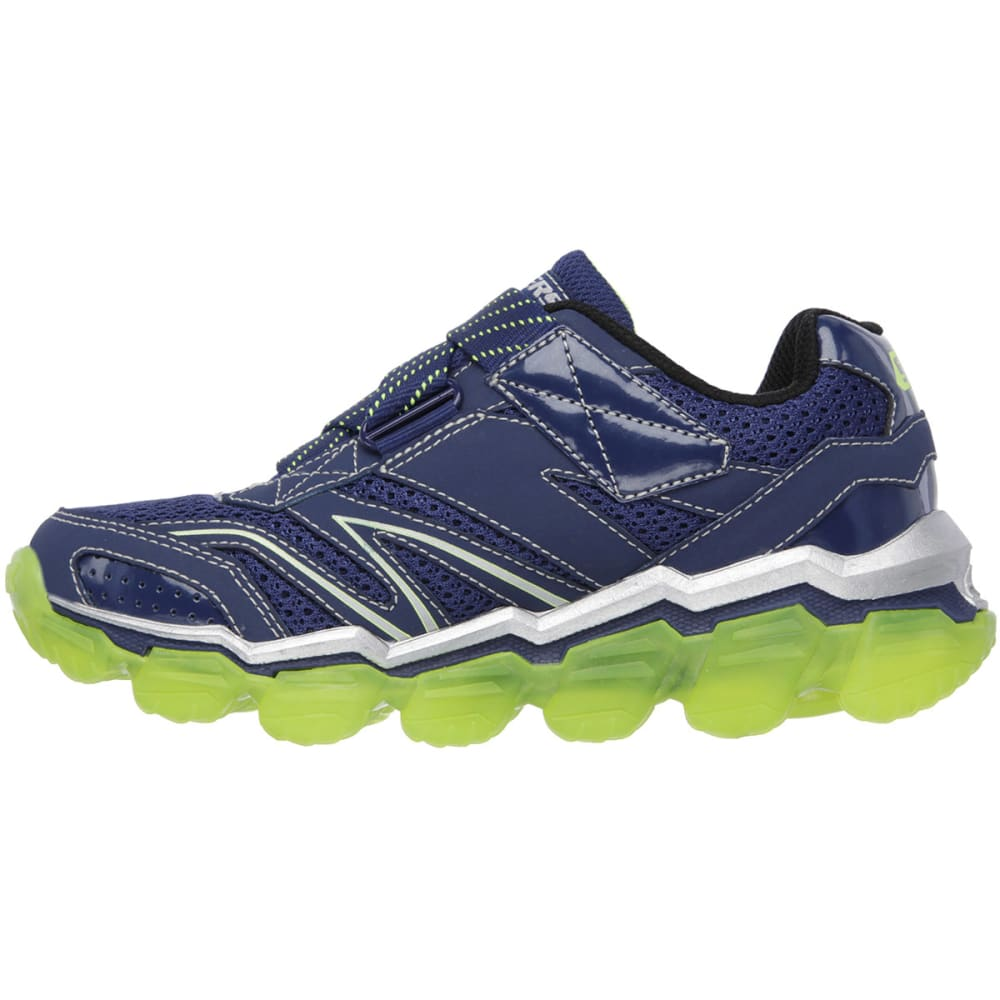 SKECHERS Boys' Skech-Air Shoes, 10.5-3 - NAVY