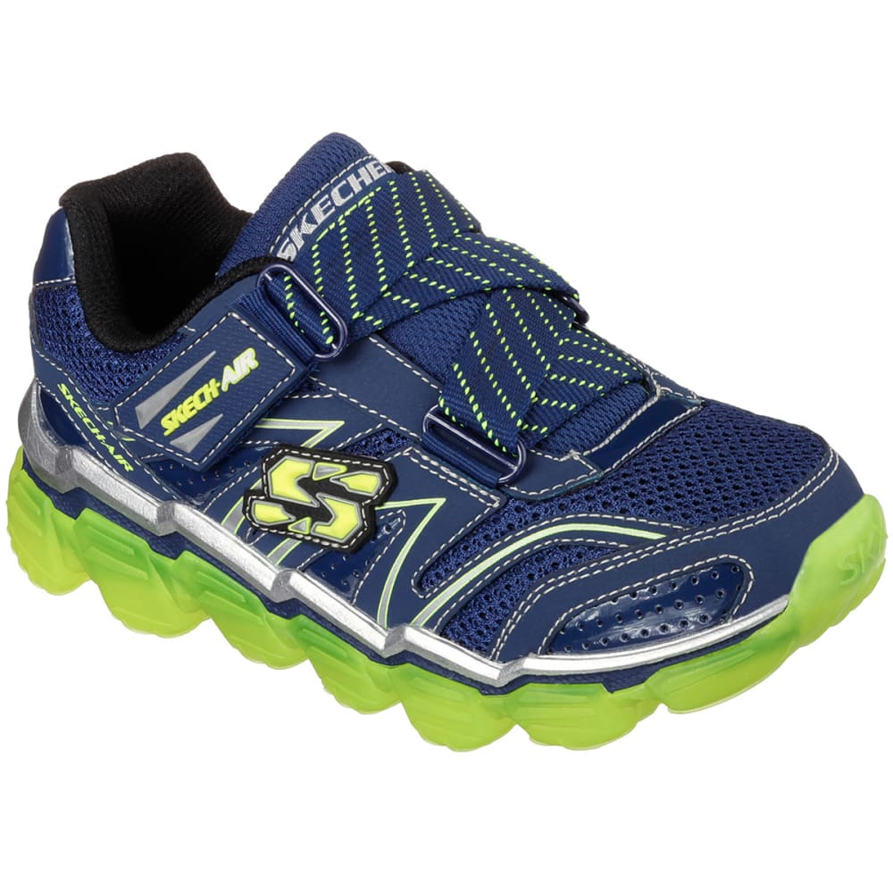SKECHERS Boys' Skech-Air Shoes, 10.5-3 - NAVY