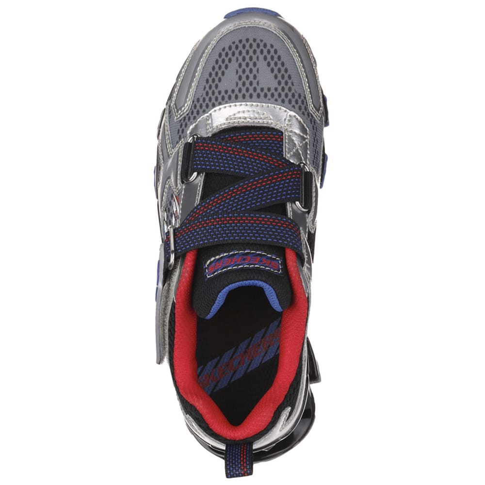 SKECHERS Boys' Mega Blade 2.0 Athletic Shoes - GRANITE HEATHER/OXFO
