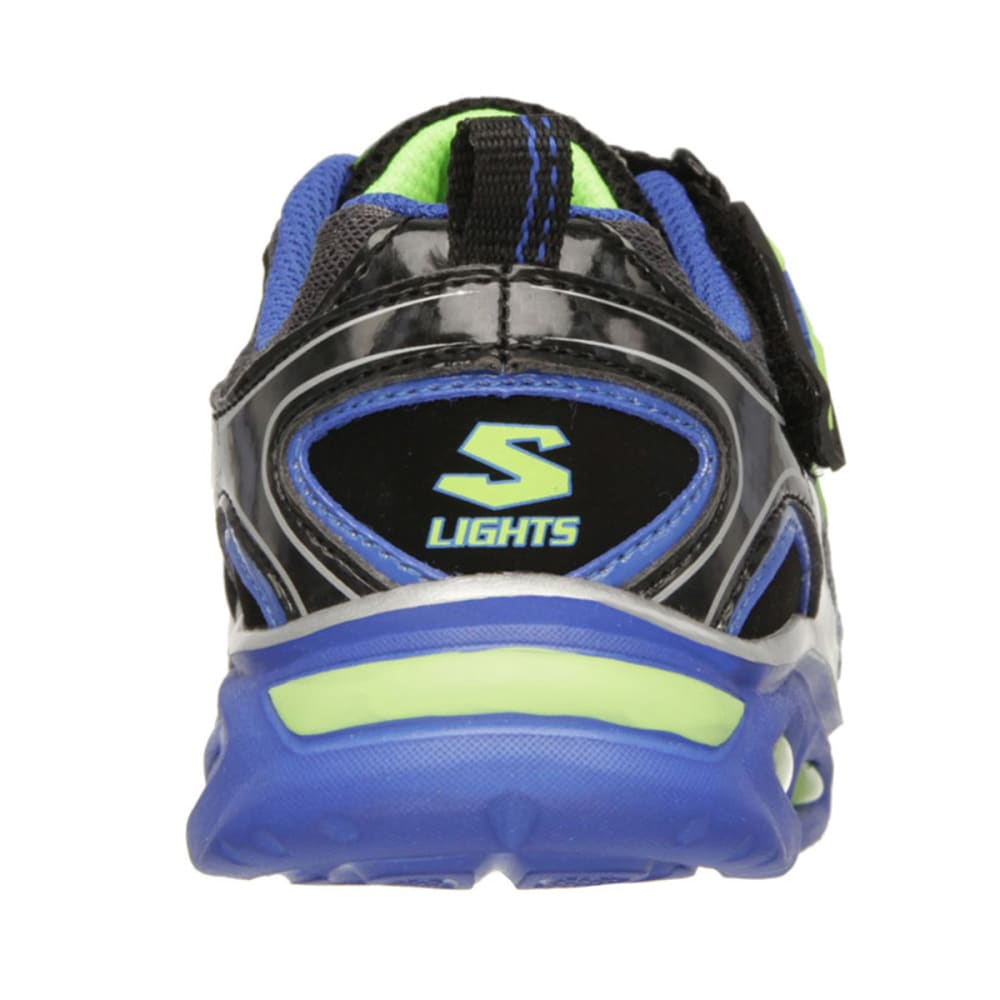 SKECHERS Boys' Lighted Ipox Sneakers - STEALTH LINE METER