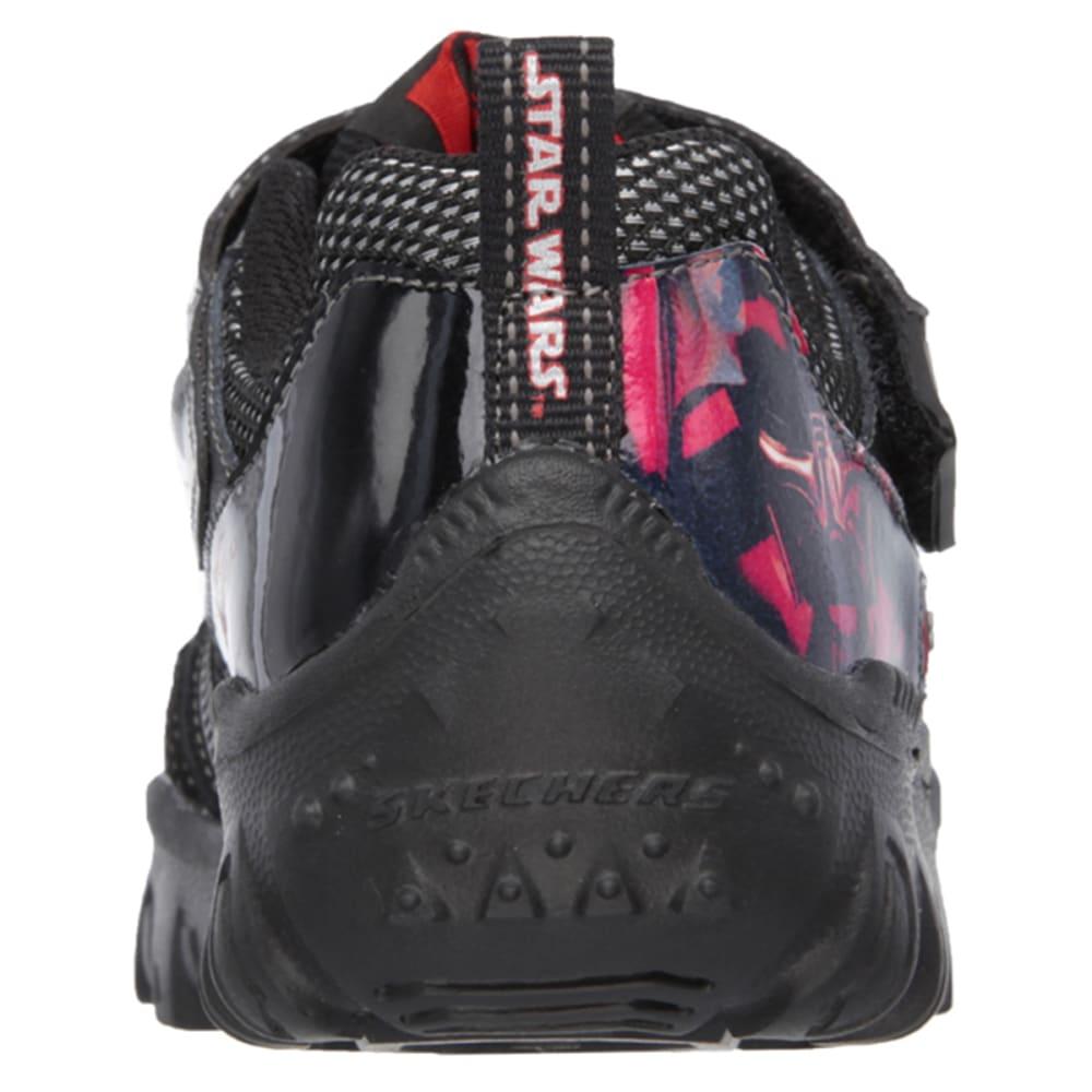 SKECHERS Boys' Star Wars: Damager III – Hypernova Sneakers - BLACK FLORAL