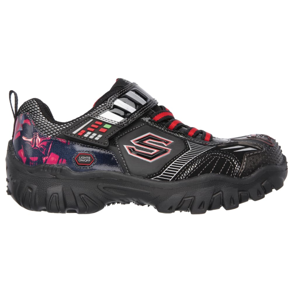 SKECHERS Boys' Star Wars: Damager III – Hypernova Sneakers - BLACK FLORAL