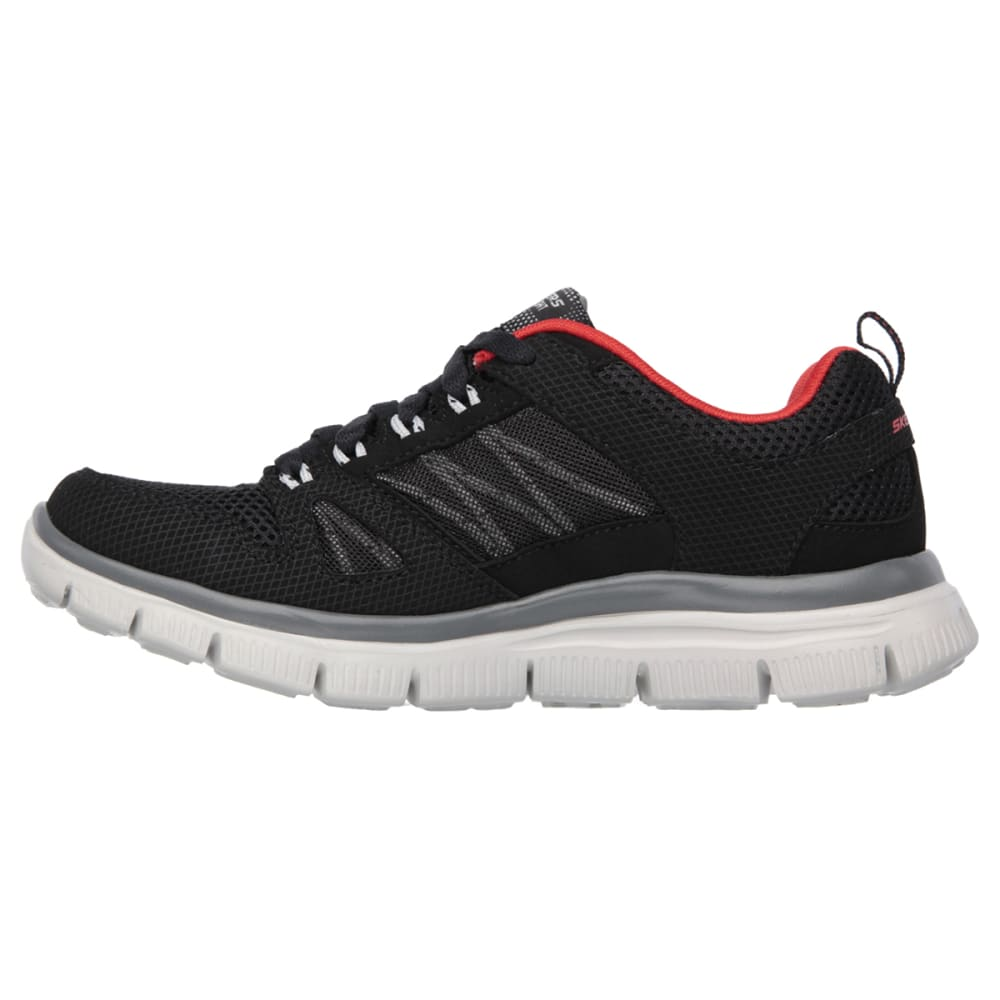 SKECHERS Boys' Flex Advantage Running Shoes - BLACK