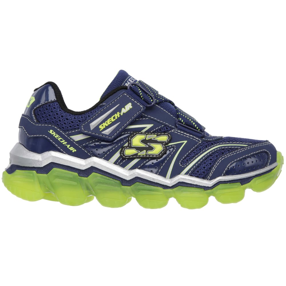 SKECHERS Boys' Skech-Air Shoes, 3.5-7 - NAVY