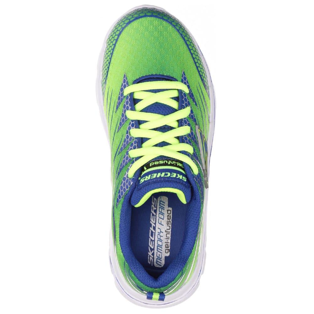 SKECHERS Boy's Nitrate Sneakers, Wide - RAINFOREST HEATHER