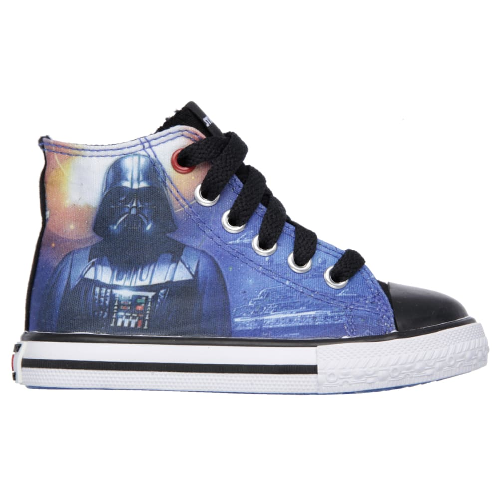 SKECHERS Boys' Star Wars: Cadence – Star Stream Sneakers - BLACK FLORAL