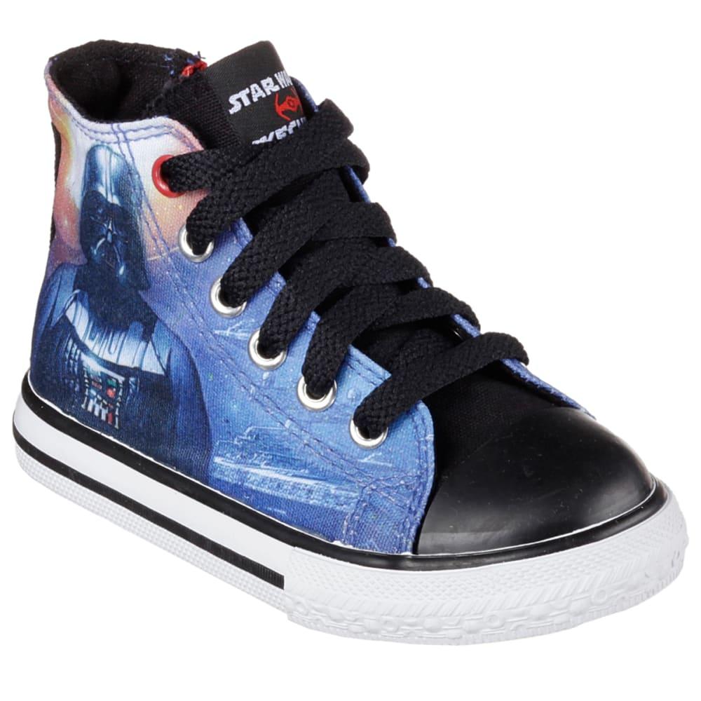 SKECHERS Boys' Star Wars: Cadence – Star Stream Sneakers - BLACK FLORAL
