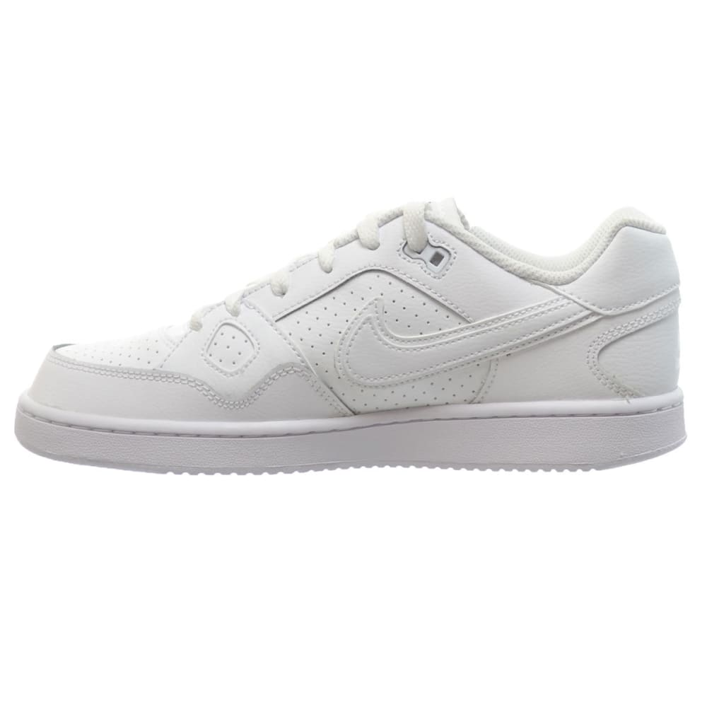NIKE Boys' Son of Force Low Sneakers - WHITE/PERIWINKLE