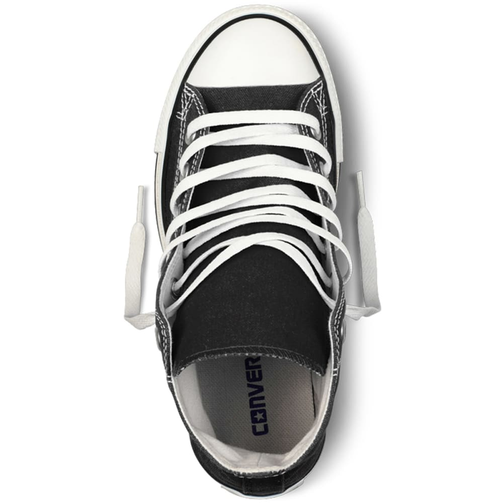 CONVERSE Kids' Chuck Taylor All Star Hi-Top Shoes - BLACK