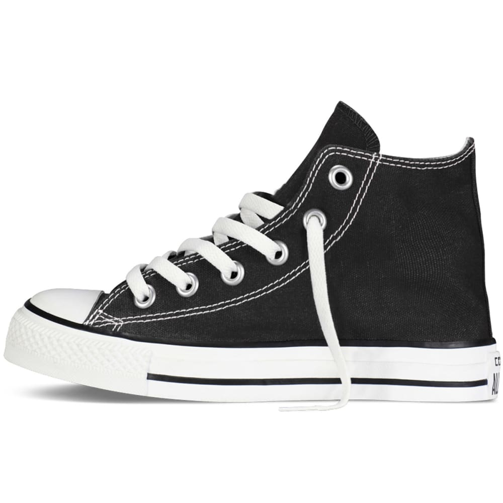 CONVERSE Kids' Chuck Taylor All Star Hi-Top Shoes - BLACK