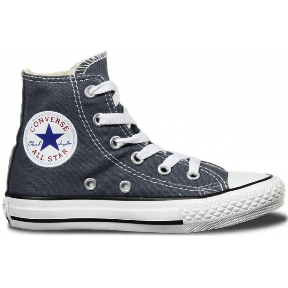 CONVERSE Kids' Chuck Taylor All Star Hi-Tops, 13-3 - LIGHT GREY
