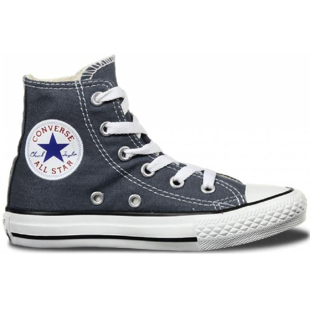 Converse Kids Chuck Taylor All Star Hi-Tops, 13-3 - Black, 13