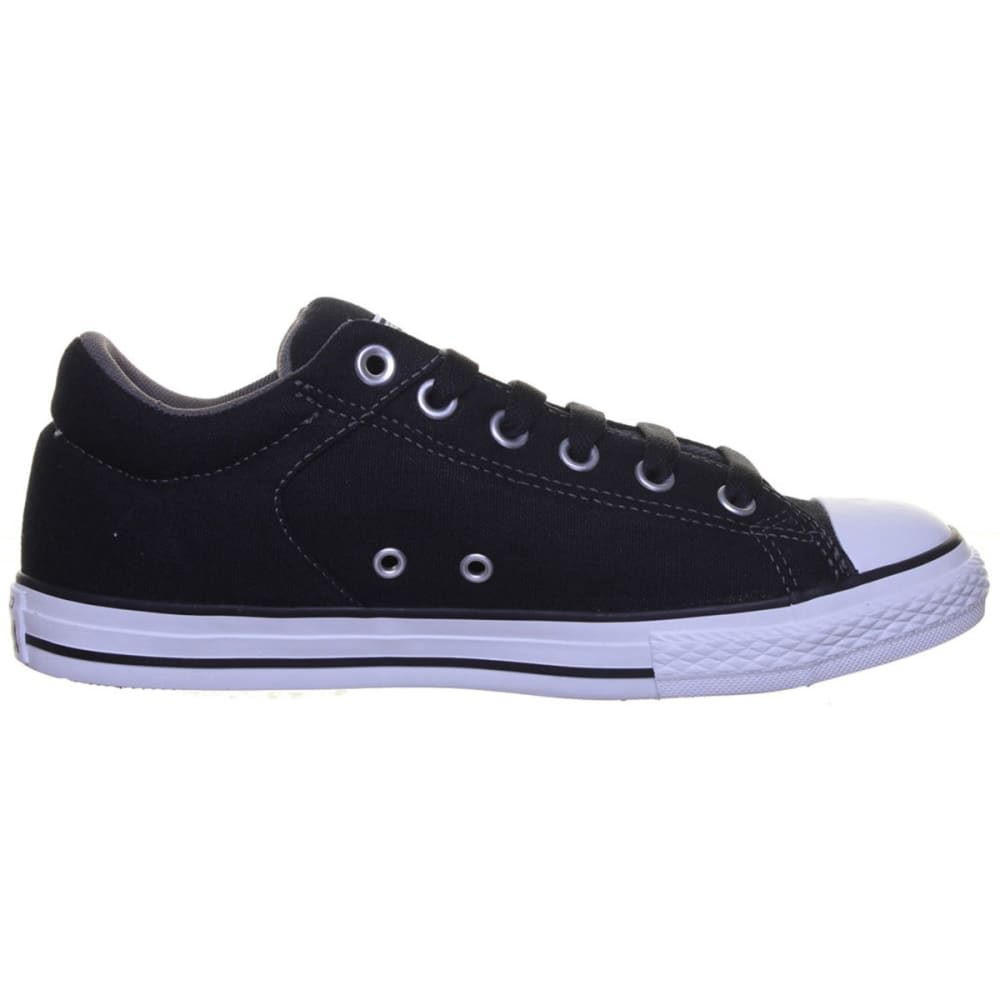 CONVERSE Kids' All Star High Street Lo Slip-On Shoes - BLACK