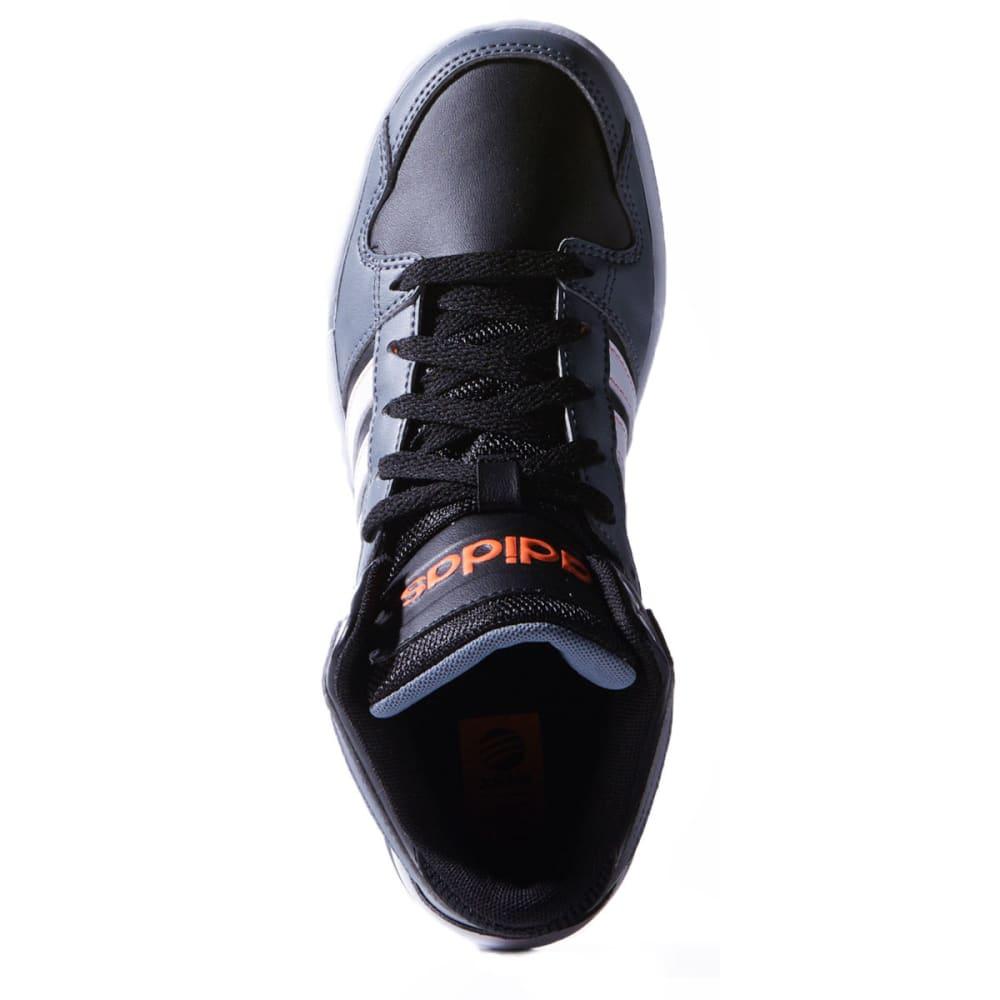 ADIDAS Boys' BB9tis Shoes - BLACK/WHITE/ORANGE