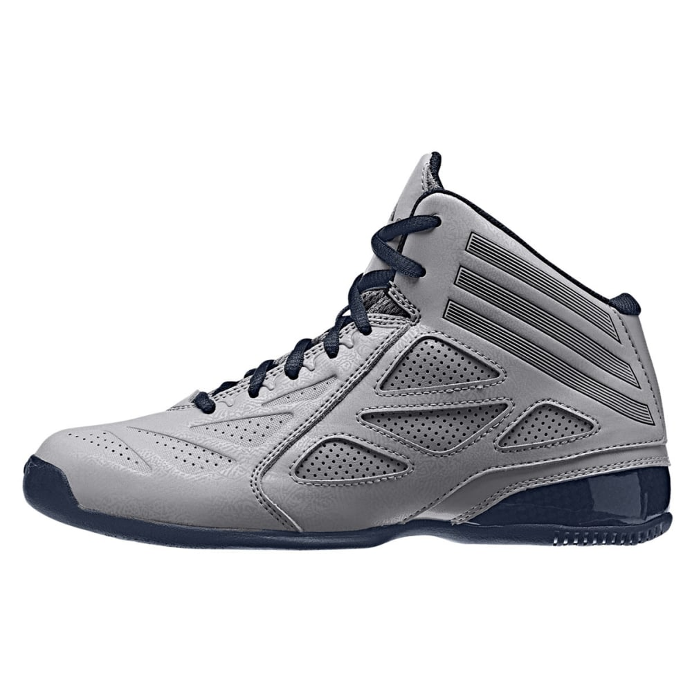 ADIDAS Boys' Nxt Lvl Spd 2 Sneakers - GRANITE/NAVY