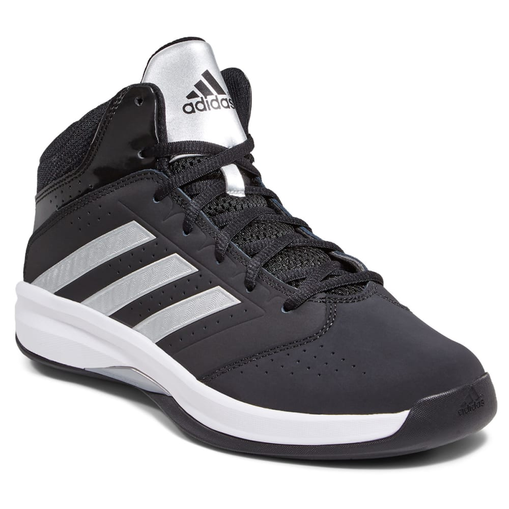 ADIDAS Boys' Isolation 2 Basketball Shoes - STEALTH LINE METER
